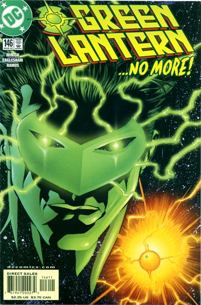 Cover for Green Lantern (DC, 1990 series) #146 [Direct Sales]