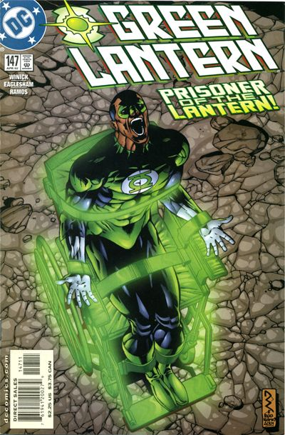 Cover for Green Lantern (DC, 1990 series) #147
