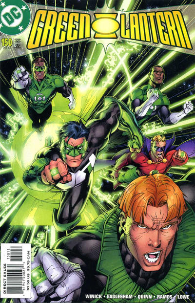 Cover for Green Lantern (DC, 1990 series) #150