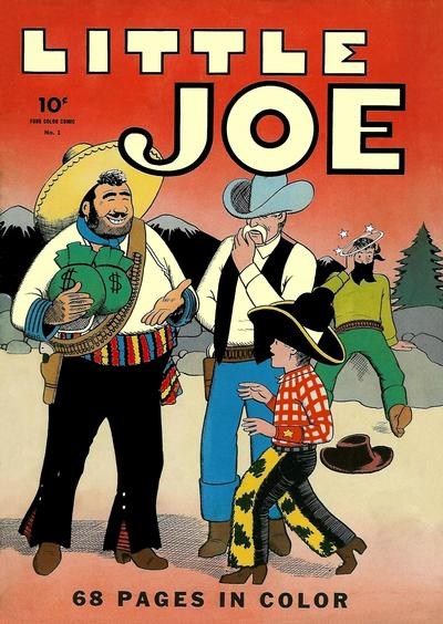 Cover for Four Color (Dell, 1942 series) #1 - Little Joe [Star Cover Variant]