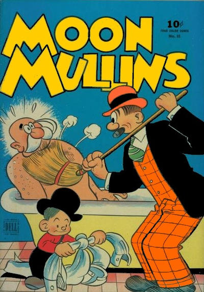 Cover for Four Color (Dell, 1942 series) #81 - Moon Mullins