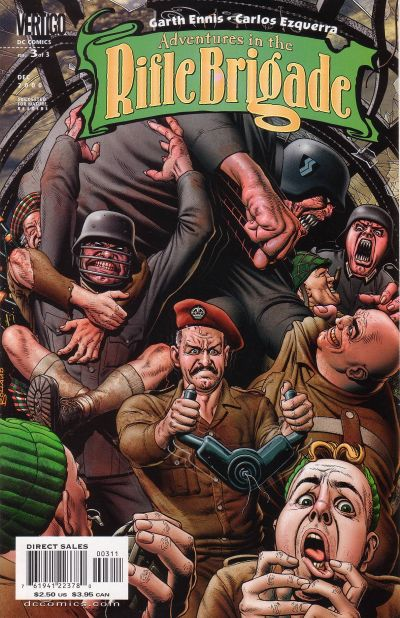 Cover for Adventures in the Rifle Brigade (DC, 2000 series) #3
