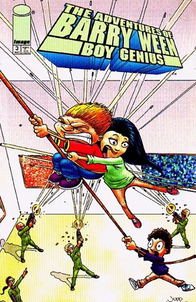 Cover for The Adventures of Barry Ween, Boy Genius (Image, 1999 series) #3