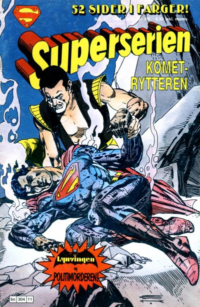 Cover for Superserien (Semic, 1982 series) #11/1984