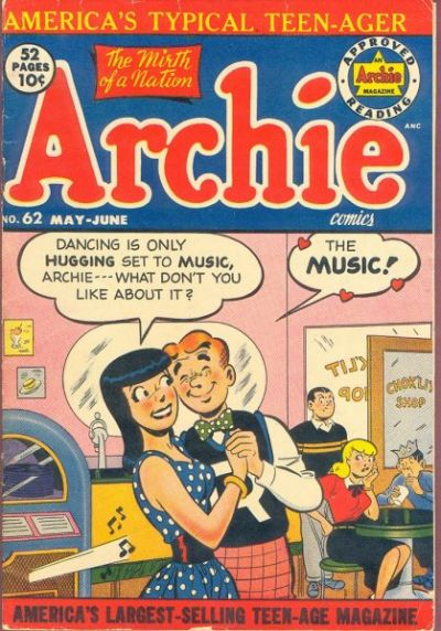 Cover for Archie Comics (Archie, 1942 series) #62