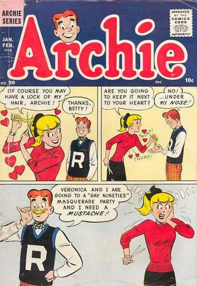 Cover for Archie Comics (Archie, 1942 series) #90