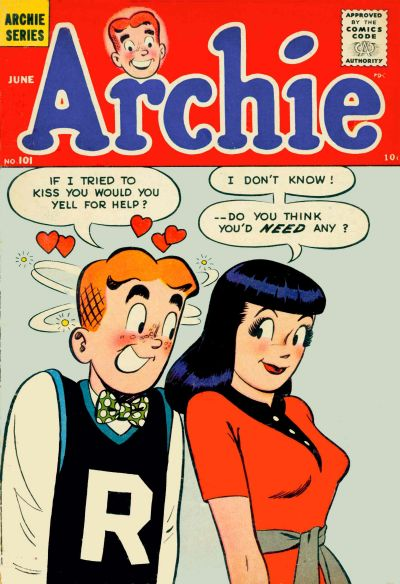 Cover for Archie Comics (Archie, 1942 series) #101