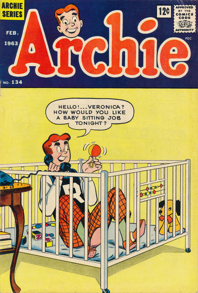 Cover for Archie (Archie, 1959 series) #134