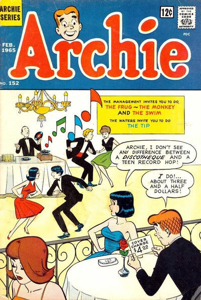 Cover for Archie (Archie, 1959 series) #152