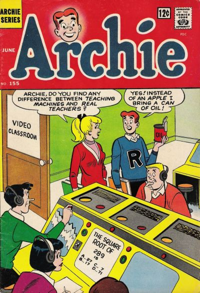 Cover for Archie (Archie, 1959 series) #155