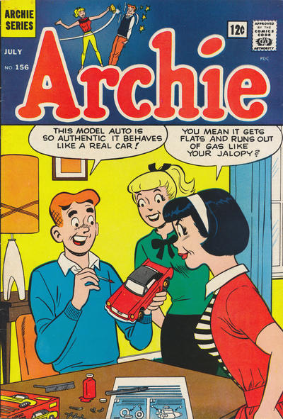 Cover for Archie (Archie, 1959 series) #156