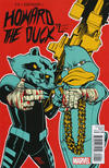 Cover Thumbnail for Howard the Duck (2015 series) #2 [Variant Edition - Run The Jewels - Mahmud Asrar Cover]