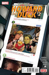 Cover Thumbnail for Howard the Duck (2015 series) #2 [Second Printing]