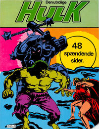 Cover Thumbnail for Hulk Album (Winthers Forlag, 1982 series) #3