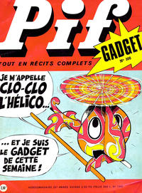 Cover Thumbnail for Pif Gadget (Éditions Vaillant, 1969 series) #108