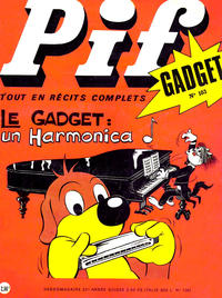 Cover Thumbnail for Pif Gadget (Éditions Vaillant, 1969 series) #103