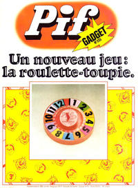 Cover Thumbnail for Pif Gadget (Éditions Vaillant, 1969 series) #255