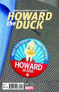 Cover Thumbnail for Howard the Duck (Marvel, 2015 series) #2 [Variant Edition - Chip Zdarsky Cover]