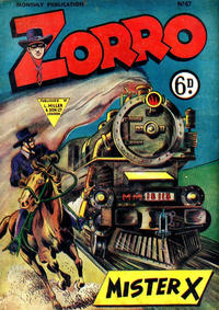 Cover Thumbnail for Zorro (L. Miller & Son, 1952 series) #67