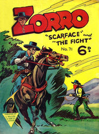 Cover Thumbnail for Zorro (L. Miller & Son, 1952 series) #71