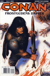 Cover Thumbnail for Conan (Bladkompaniet / Schibsted, 1990 series) #2/2005