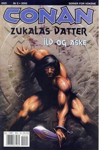 Cover Thumbnail for Conan (Bladkompaniet / Schibsted, 1990 series) #5/2005