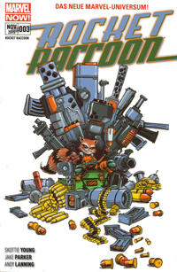 Cover Thumbnail for Rocket Raccoon (Panini Deutschland, 2015 series) #3 - Krawall im All