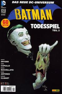 Cover Thumbnail for Batman (Panini Deutschland, 2012 series) #42 (107)