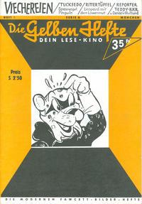 Cover Thumbnail for Die gelben Hefte (Norbert Dargatz Verlag, 1992 series) #1 [Serie A]