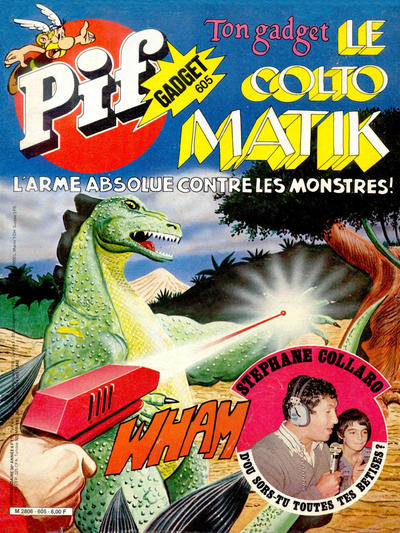 Cover for Pif Gadget (Éditions Vaillant, 1969 series) #605