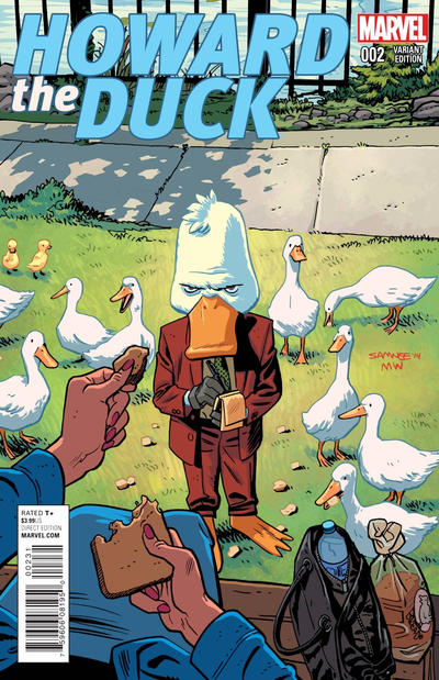 Cover for Howard the Duck (Marvel, 2015 series) #2