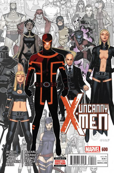 Cover for Uncanny X-Men (Marvel, 2013 series) #600 [Leinil Francis Yu Variant]