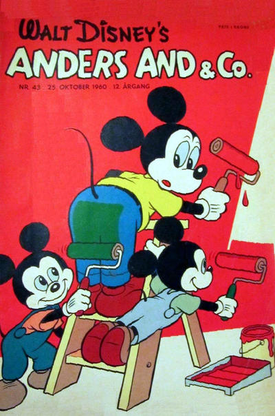 Cover for Anders And & Co. (Egmont, 1949 series) #43/1960