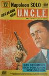 Cover for Napoleon Solo - Der Mann von U.N.C.L.E. (Semic, 1967 series) #2