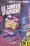 Cover for (AS) Comics (Casterman, 1989 series) #1 - Le Surfer d'argent - Parabole 1/2