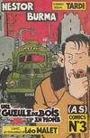 Cover for (AS) Comics (Casterman, 1989 series) #3 - Nestor Burma - une gueule de bois en plomb (1/3)