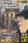 Cover for (AS) Comics (Casterman, 1989 series) #5 - Nestor Burma - une gueule de bois en plomb (3/3)