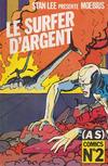 Cover for (AS) Comics (Casterman, 1989 series) #2 - Le Surfer d'argent - Parabole 2/2