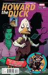 Cover for Howard the Duck (Marvel, 2015 series) #4 [Variant Edition - Ed McGuinness Cover]