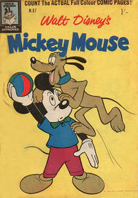 Cover Thumbnail for Walt Disney's Mickey Mouse (W. G. Publications; Wogan Publications, 1956 series) #67