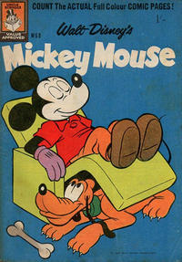 Cover Thumbnail for Walt Disney's Mickey Mouse (W. G. Publications; Wogan Publications, 1956 series) #68