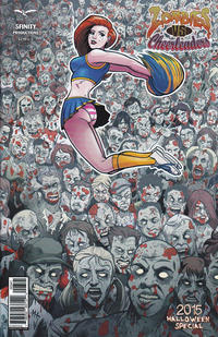 Cover Thumbnail for Zombies vs Cheerleaders: Halloween Special (Zenescope Entertainment, 2014 series) #[2] [Cover D]