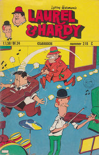 Cover Thumbnail for Laurel en Hardy (Classics/Williams, 1963 series) #218