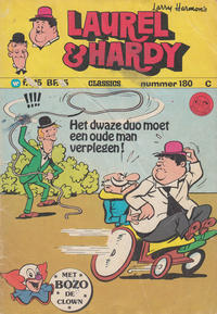 Cover Thumbnail for Laurel en Hardy (Classics/Williams, 1963 series) #180