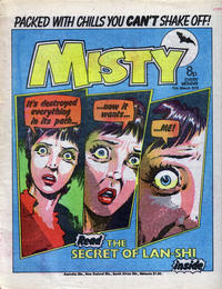 Cover Thumbnail for Misty (IPC, 1978 series) #11th March 1978 [6]