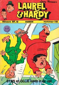 Cover Thumbnail for Laurel en Hardy (Classics/Williams, 1963 series) #118