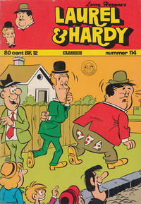 Cover Thumbnail for Laurel en Hardy (Classics/Williams, 1963 series) #114