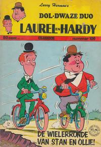 Cover Thumbnail for Laurel en Hardy (Classics/Williams, 1963 series) #106