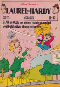 Cover Thumbnail for Laurel en Hardy (Classics/Williams, 1963 series) #92