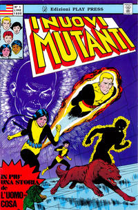 Cover Thumbnail for I Nuovi Mutanti (Play Press, 1989 series) #1